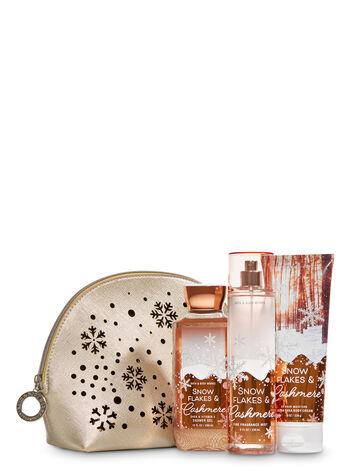 Snowflakes & Cashmere Sparkling Wonderland Cosmetic Bag Gift Set