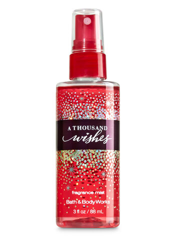 Signature Collection A Thousand Wishes Travel Size Fine Fragrance Mist - Bath And Body Works