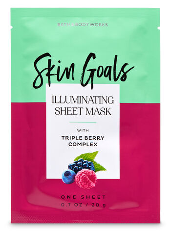Illuminating with Superfruit Berry Complex Face Sheet Mask