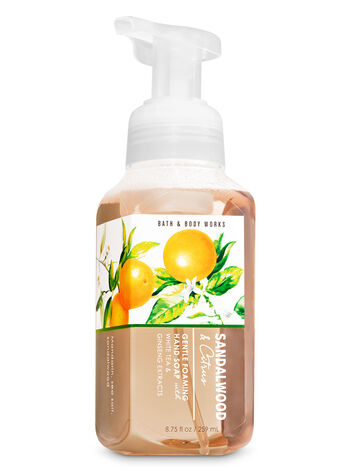 Sandalwood & Citrus Gentle Foaming Hand Soap - Bath And Body Works