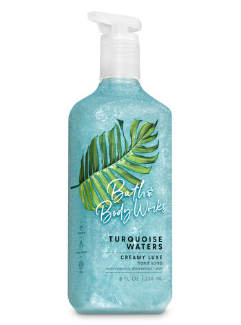 Turquoise Waters Creamy Luxe Hand Soap - Bath And Body Works