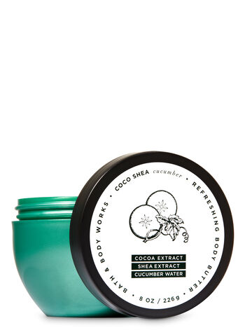 CocoShea Cucumber Refreshing Body Butter - Bath And Body Works