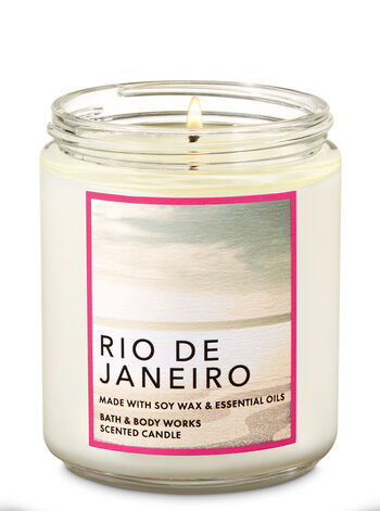 Rio De Janeiro Single Wick Candle - Bath And Body Works