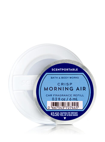 Crisp Morning Air Scentportable Fragrance Refill - Bath And Body Works