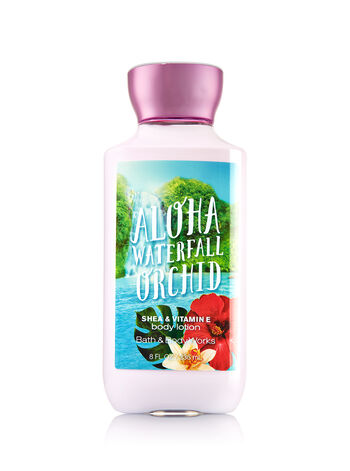 Signature Collection Aloha Waterfall Orchid Body Lotion - Bath And Body Works