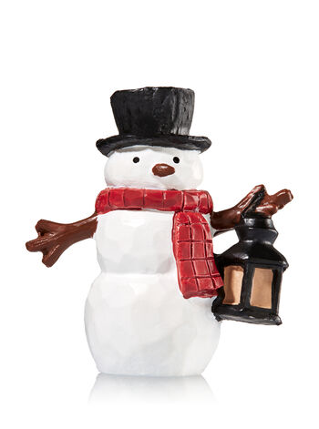 Snowman 3-Wick Candle Lid Magnet