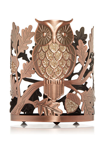 Sparkling Owl 3-Wick Candle Sleeve