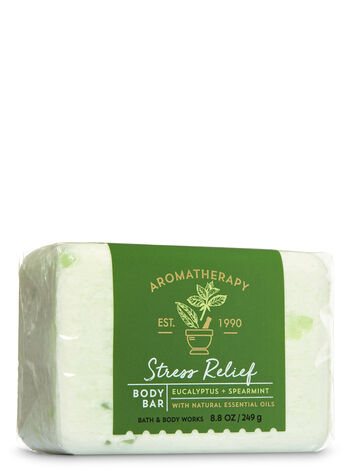 Aromatherapy Stress Relief - Eucalyptus & Spearmint Body Bar - Bath And Body Works