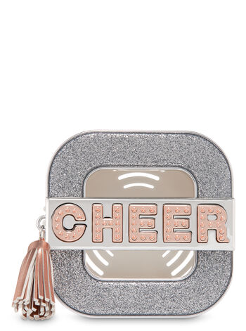 Sparkly Cheer Vent Clip Scentportable Holder