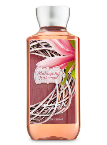 Signature Collection Mahogany Teakwood Shower Gel - Bath And Body Works