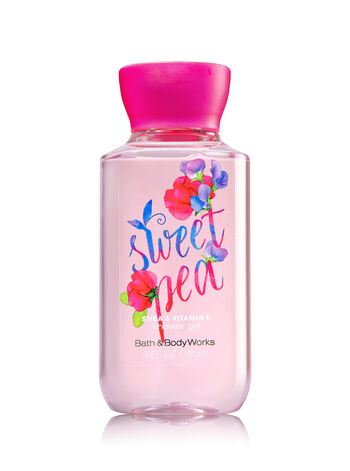 Signature Collection Sweet Pea Travel Size Shower Gel - Bath And Body Works
