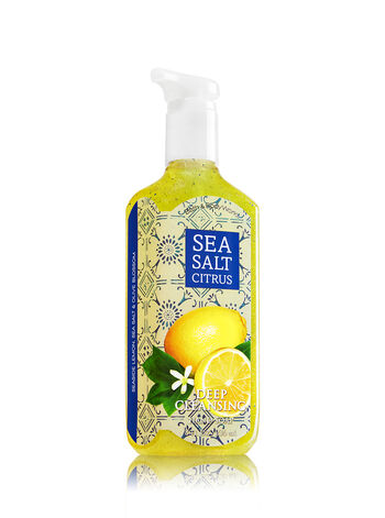 Sea Salt Citrus Deep Cleansing Hand Soap - Bath And Body Works