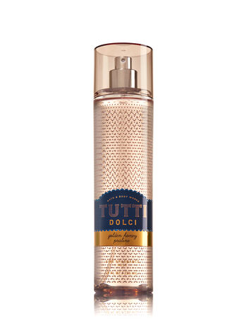 Signature Collection Golden Honey Praline Fine Fragrance Mist - Bath And Body Works