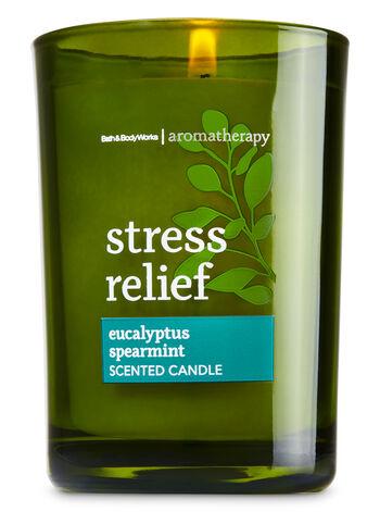Aromatherapy Eucalyptus Spearmint Medium Candle - Bath And Body Works