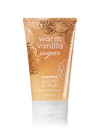 Signature Collection Warm Vanilla Sugar Foaming Sugar Scrub - Bath And Body Works