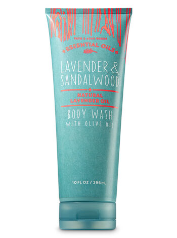 Lavender & Sandalwood Body Wash with Olive Oil - Bath And Body Works