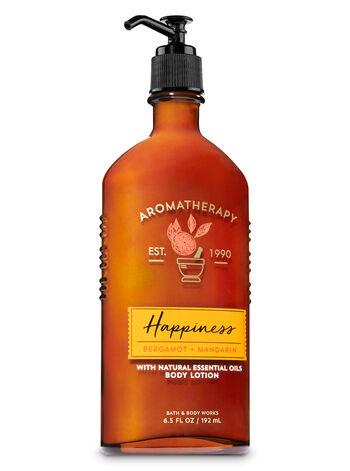 Aromatherapy Happiness - Bergamot & Mandarin Body Lotion - Bath And Body Works