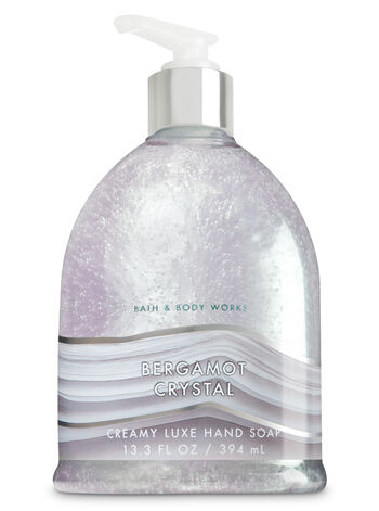 Bergamot Crystal Creamy Luxe Hand Soap - Bath And Body Works