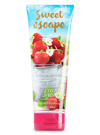 Signature Collection Strawberry Picnic Body Cream - Bath And Body Works