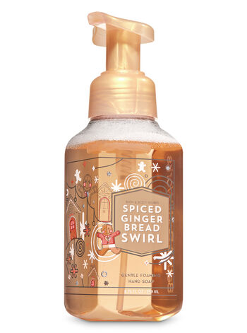 Spiced Gingerbread Swirl Gentle Foaming Hand Soap - Bath And Body Works