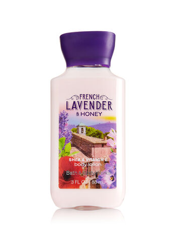 Signature Collection French Lavender & Honey Travel Size Body Lotion - Bath And Body Works