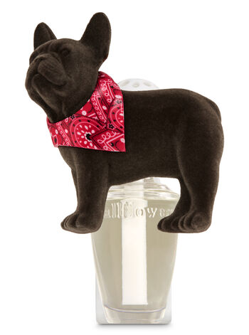 Bulldog with Scarf Wallflowers Fragrance Plug