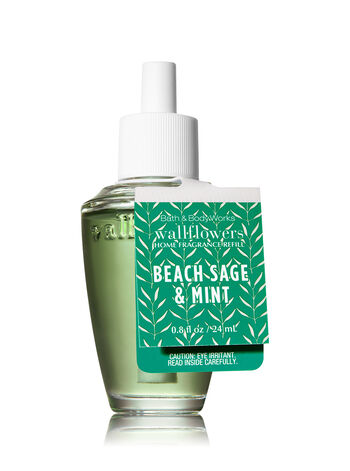 Beach Sage & Mint Wallflowers Fragrance Refill - Bath And Body Works