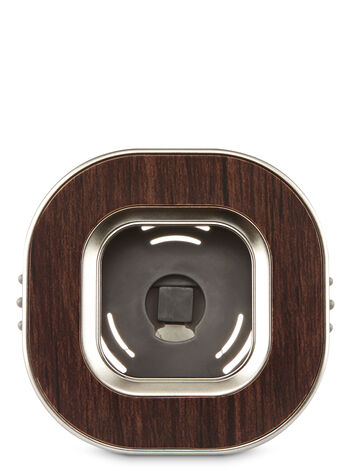 Wood Square Vent Clip Scentportable Holder