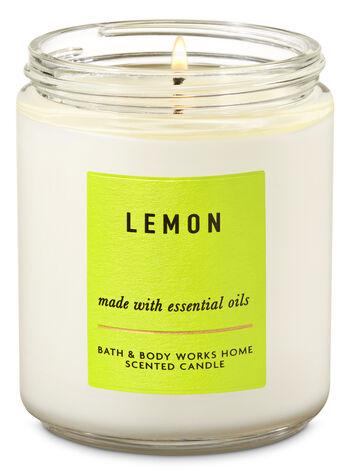 Lemon Single Wick Candle