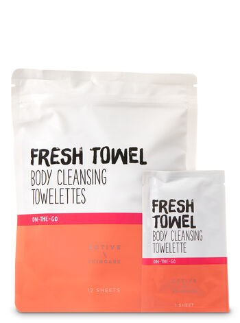 Fresh Towel Body Cleansing Towelettes