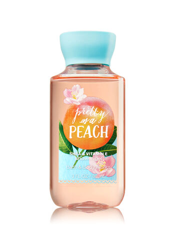 Signature Collection Pretty as a Peach Travel Size Shower Gel - Bath And Body Works
