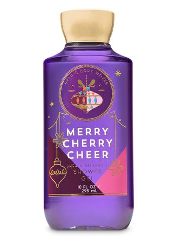Signature Collection Merry Cherry Cheer Shower Gel - Bath And Body Works