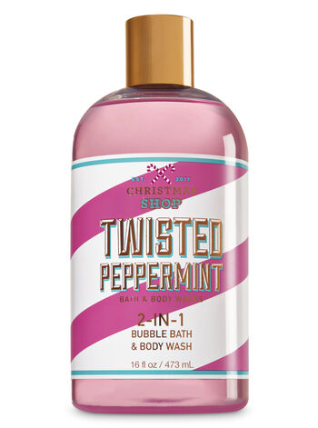 Signature Collection Twisted Peppermint 2-In-1 Bubble Bath & Body Wash - Bath And Body Works