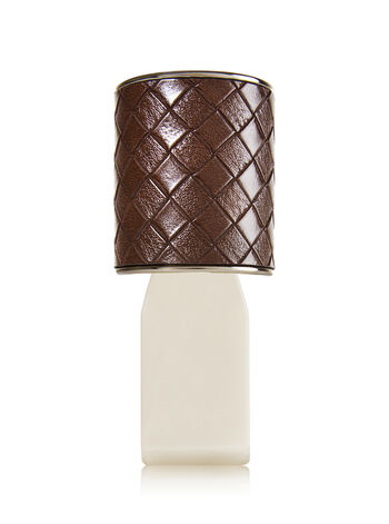 Leather Weave Wallflowers Fragrance Plug