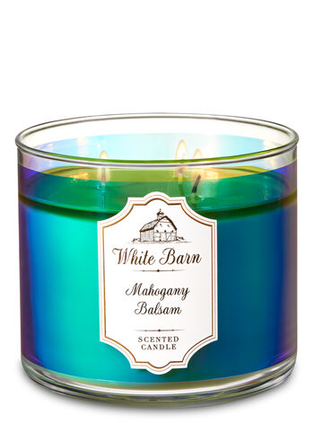 Mahogany Balsam 3-Wick Candle - Bath And Body Works