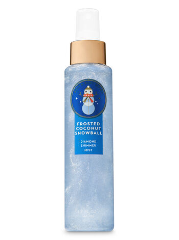 Signature Collection Frosted Coconut Snowball Diamond Shimmer Mist - Bath And Body Works