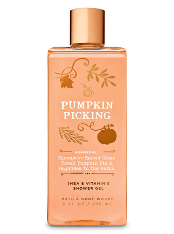 Signature Collection Pumpkin Picking Shower Gel - Bath And Body Works