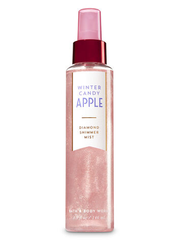 Signature Collection Winter Candy Apple Diamond Shimmer Mist - Bath And Body Works