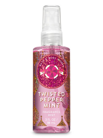 Signature Collection Twisted Peppermint Travel Size Fine Fragrance Mist - Bath And Body Works