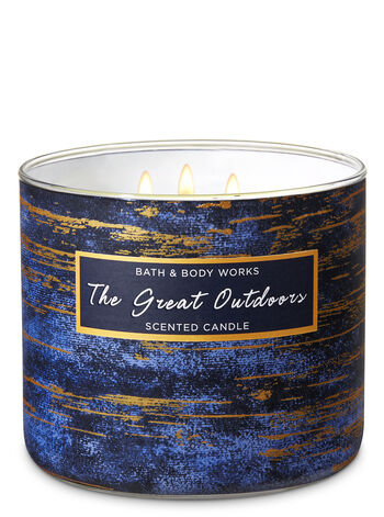 The Great Outdoors 3-Wick Candle - Bath And Body Works