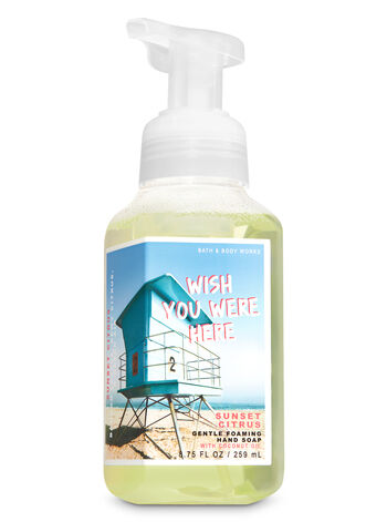Sunset Citrus Gentle Foaming Hand Soap - Bath And Body Works