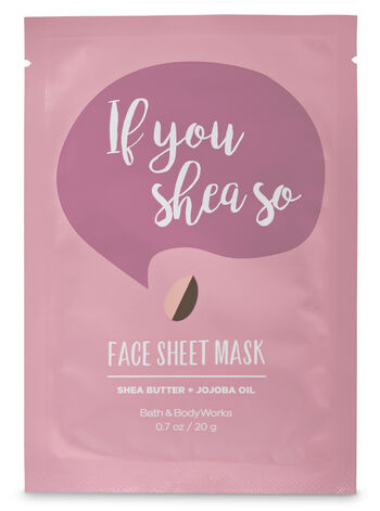 If you Shea So Face Sheet Mask