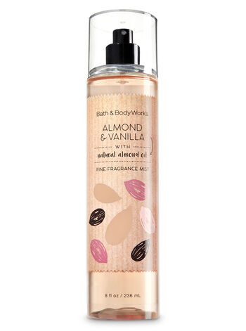 Signature Collection Almond & Vanilla Fine Fragrance Mist - Bath And Body Works