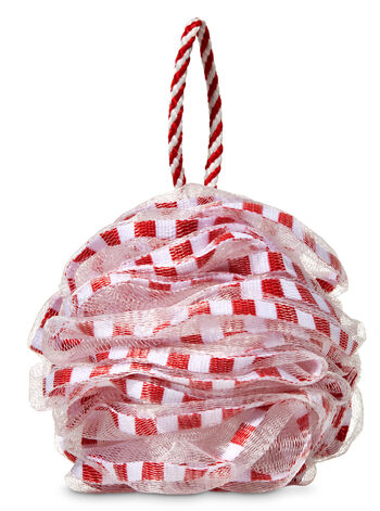 Red Ribbon Shower Sponge - Bath And Body Works