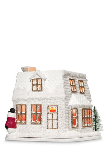 Holiday House Luminary 3-Wick Candle Holder