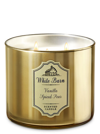 Vanilla Spiced Pear 3-Wick Candle