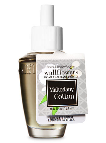 Mahogany Cotton Wallflowers Fragrance Refill - Bath And Body Works