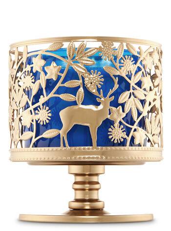 Wildlife Pedestal 3-Wick Candle Sleeve