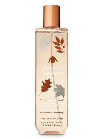 Signature Collection Sweater Weather Fine Fragrance Mist - Bath And Body Works