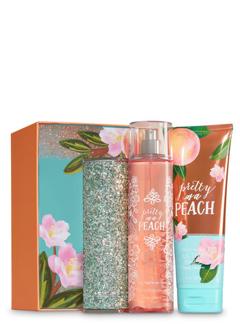 Pretty as a Peach Springtime Sparkle Gift Set